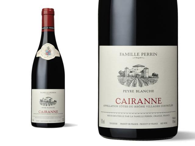 """Famille Perrin Côtes du Rhône Villages Cairanne """"Peyre Blanche"""""""