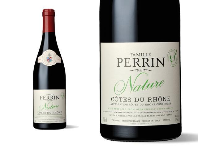 Famille Perrin Nature Côtes du Rhône Rouge 2010