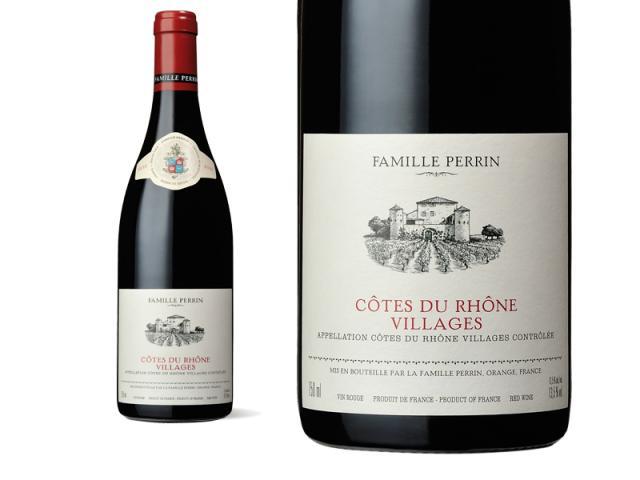 Famille Perrin Côtes du Rhône Villages Rouge